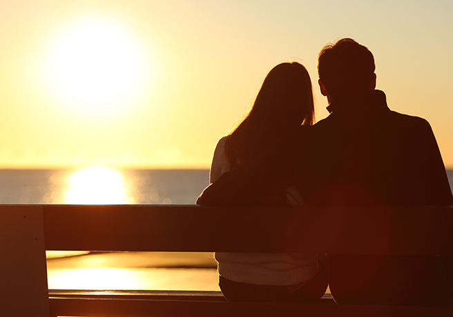 【イメージ】聖蹟桜ヶ丘でデートをするカップル①
