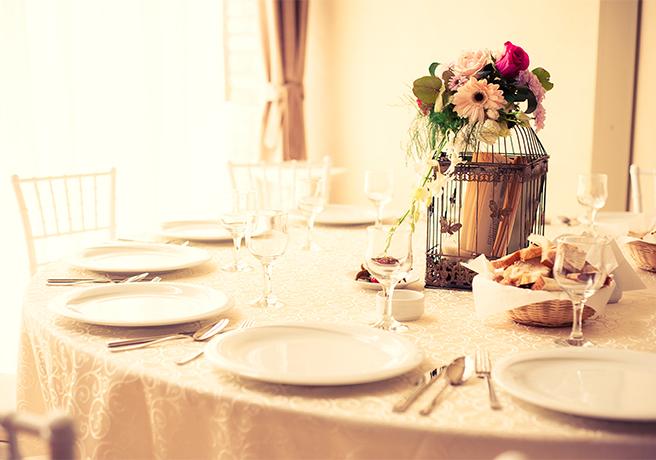 レストランウエディングで自分達だけの結婚式を!