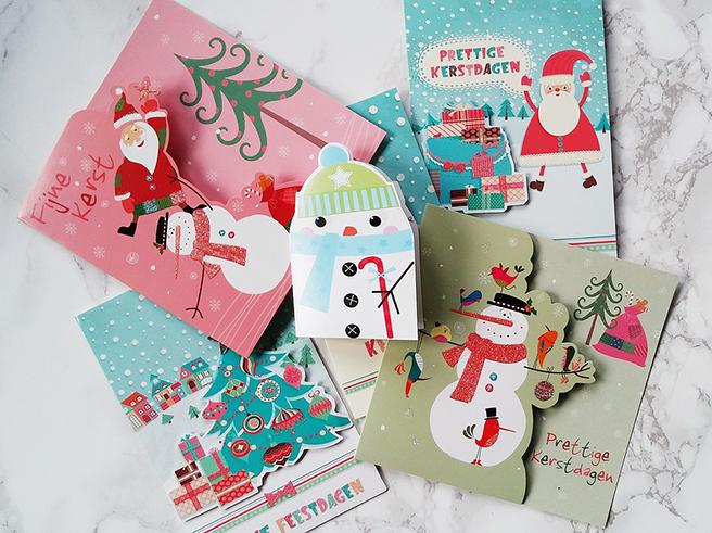 クリスマス用のメッセージカード