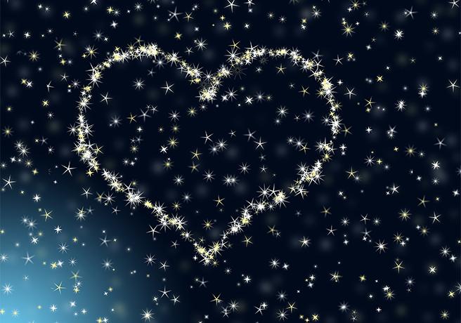 キラキラのお星さまにうっとり…… プラネタリウムでプロポーズ