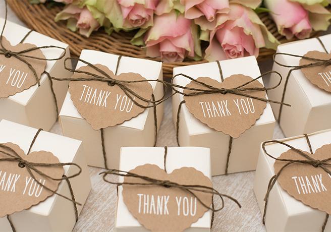 ありがとうの感謝を込めて! 結婚式で渡したいこだわりのプチギフト