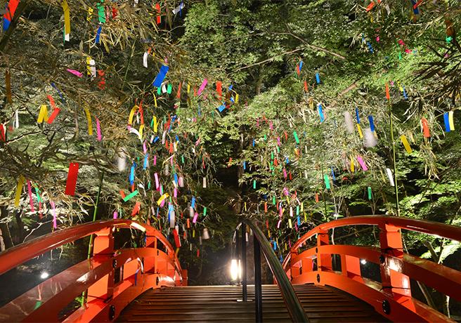 京都天満宮の七夕祭り